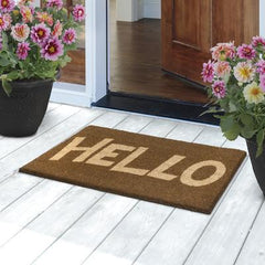 Hello Eco Friendly Doormat