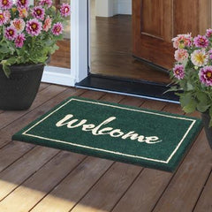 Painted Welcome Eco Friendly Doormat