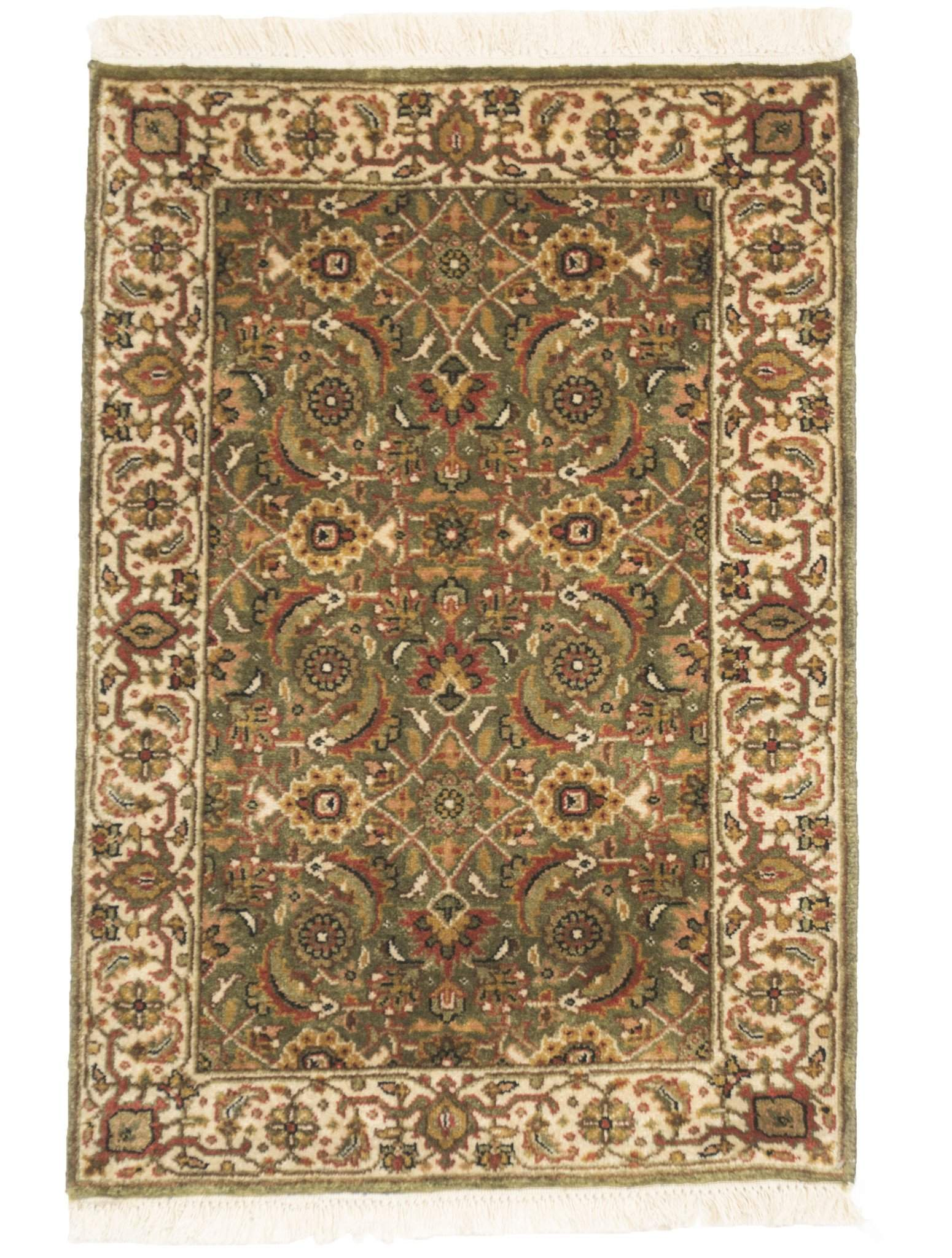 2' x 3' Herati Handknotted Traditional Wool Rug by Rug Shop and More-Area Rugs-Rug Shop and More