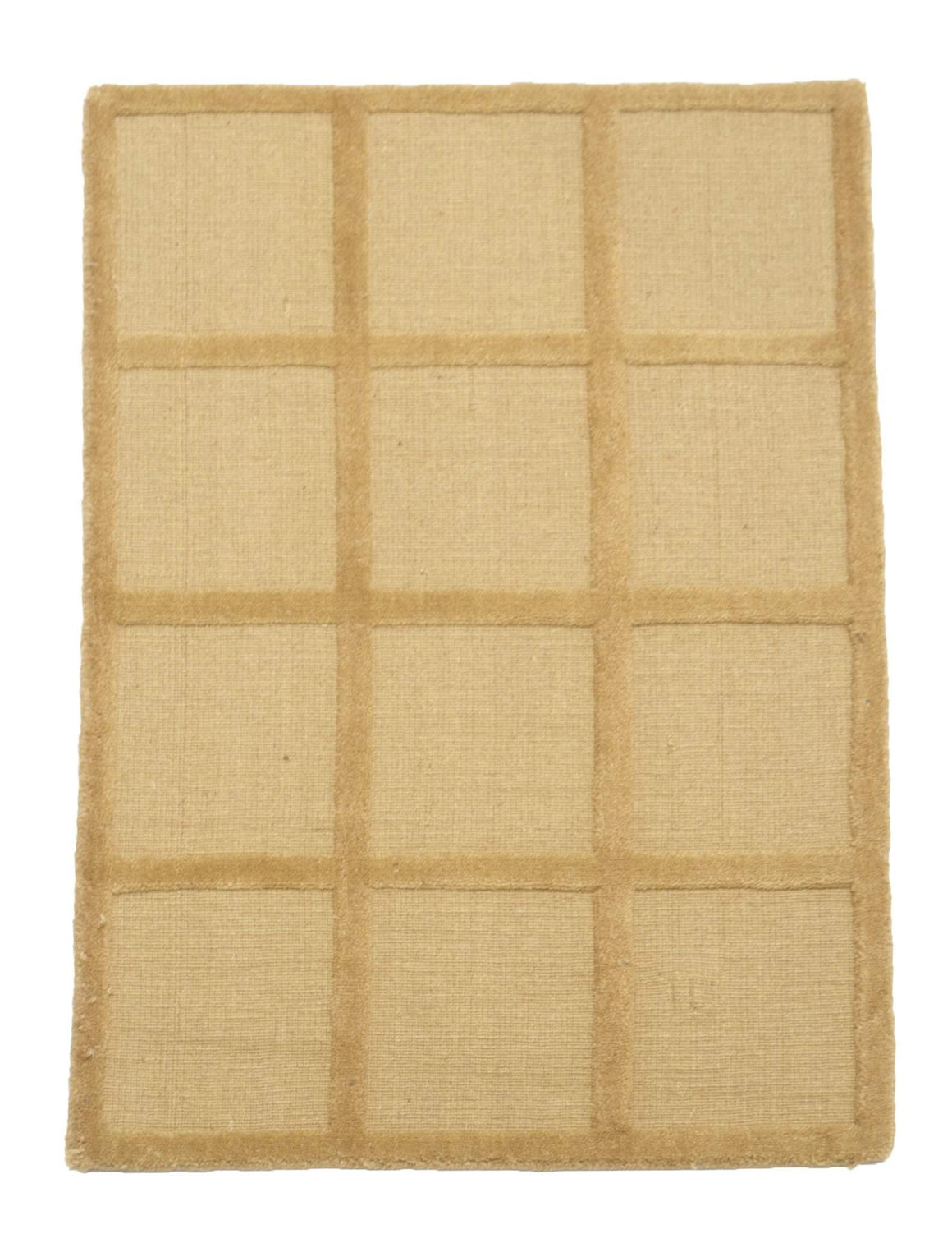2' x 3' Modern Square Pattern Wool Small Rug by Rug Shop and More Area Rugs - Rug Shop and More