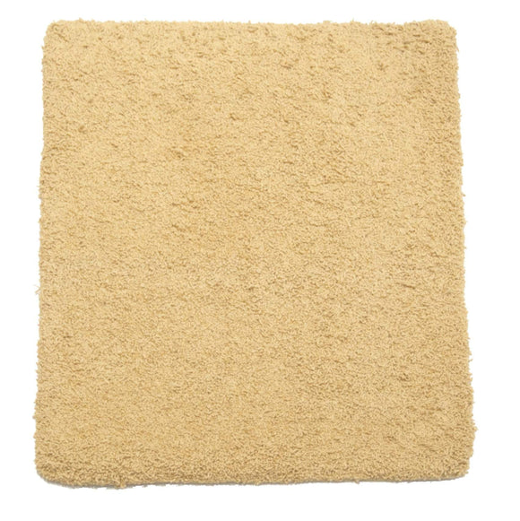 2' x 3' Plush Shag Small Wool Contemporary Rug-Area Rugs-Rug Shop and More