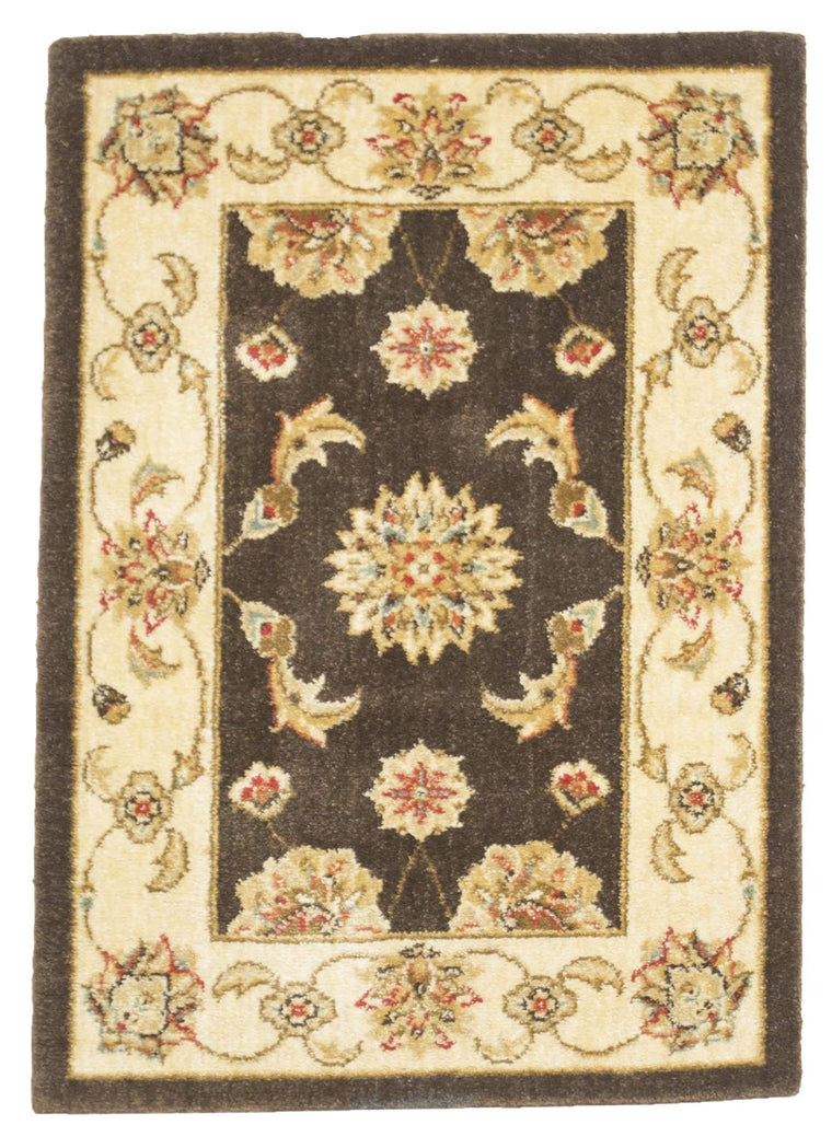2' x 3' Traditional Pattern Small Brown Rug by Rug Shop and More Area Rugs - Rug Shop and More