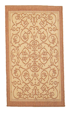 2' x 4' Recife Indoor Outdoor Small Area Runner-Area Rugs-Rug Shop and More