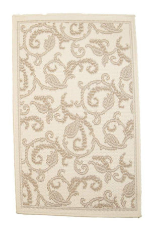 2' x 4' Recife Paisley Outdoor Small Runner-Area Rugs-Rug Shop and More