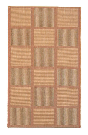 2' x 4' Recife Terracotta Outdoor Small Rug-Area Rugs-Rug Shop and More