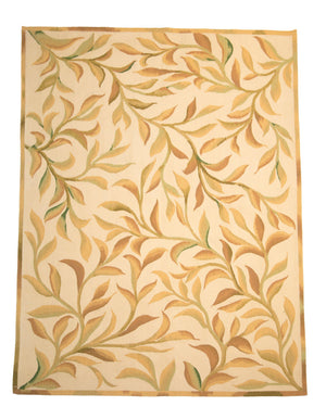 4' x 6' Aubusson Floral Area Rug-Area Rugs-Rug Shop and More