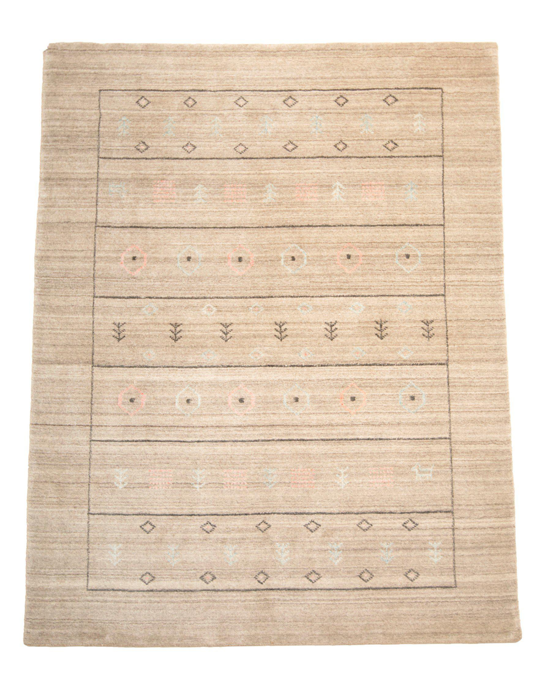 4' x 6' Gabbeh Modern Wool Rug-Area Rugs-Rug Shop and More