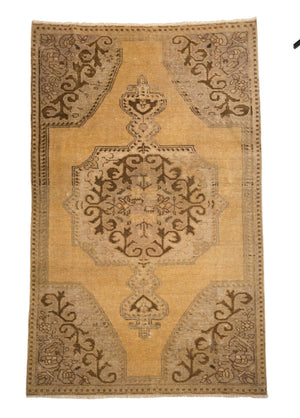 4' x 6' Kerman Flat Weave Wool Rug-Area Rugs-Rug Shop and More