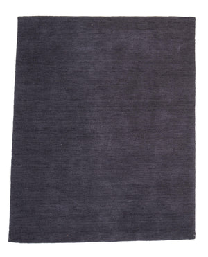 4' x 6' Modern Deep Blue Wool Rug-Area Rugs-Rug Shop and More