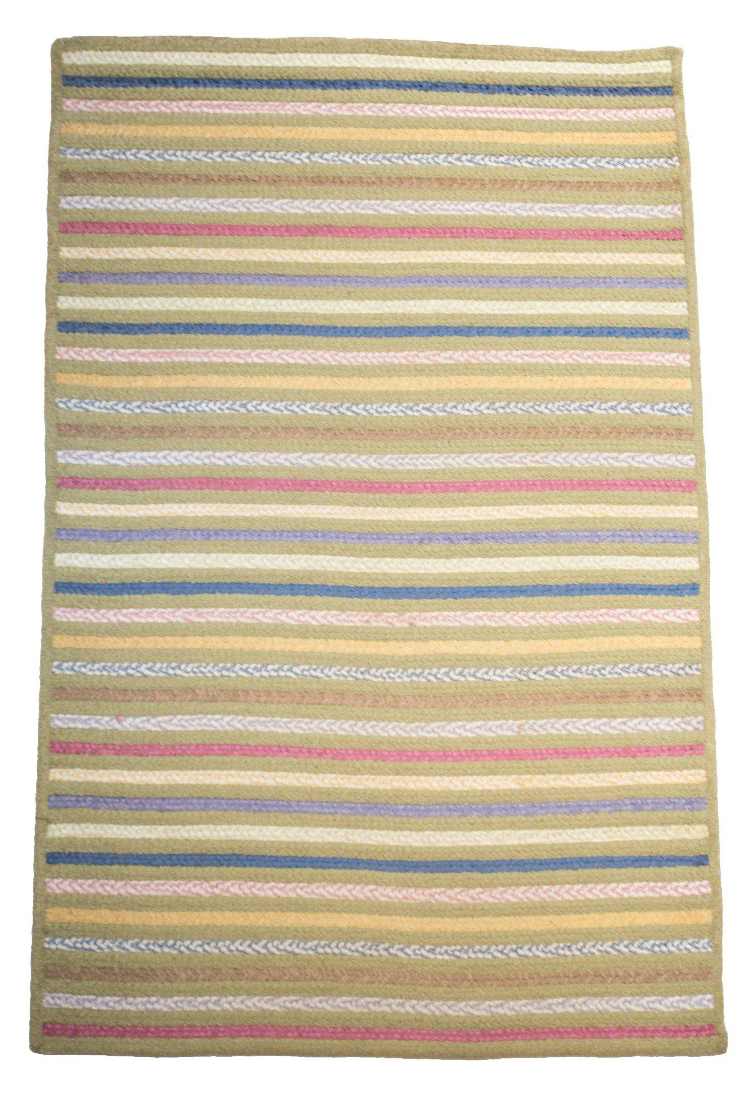 4' x 6' Modern Striped Area Rug-Area Rugs-Rug Shop and More
