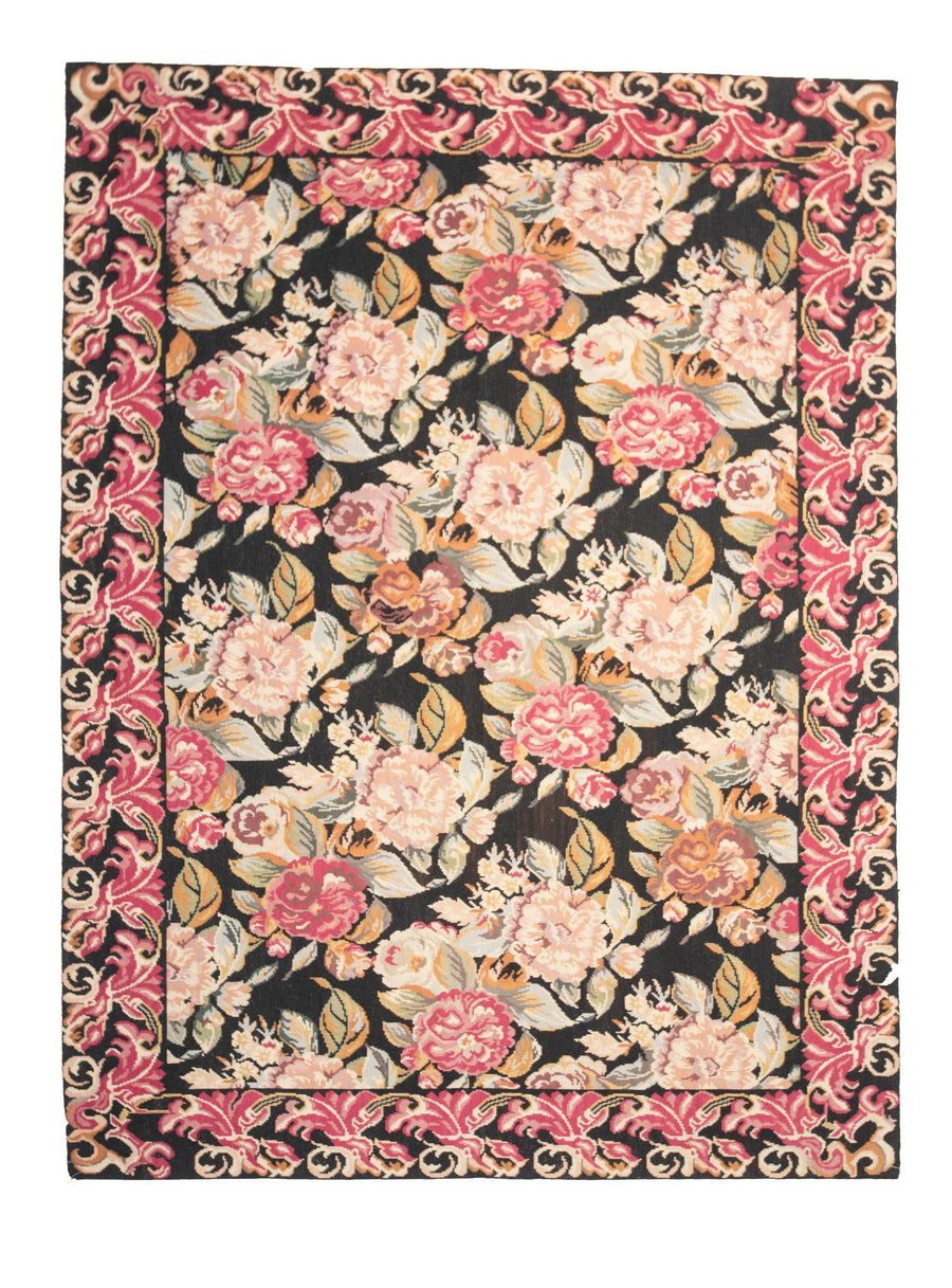 4' x 6' Needlepoint Design Traditional Rugs-Area Rugs-Rug Shop and More