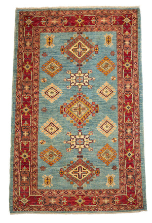 4' x 6' Southwestern Wool Rug-Area Rugs-Rug Shop and More