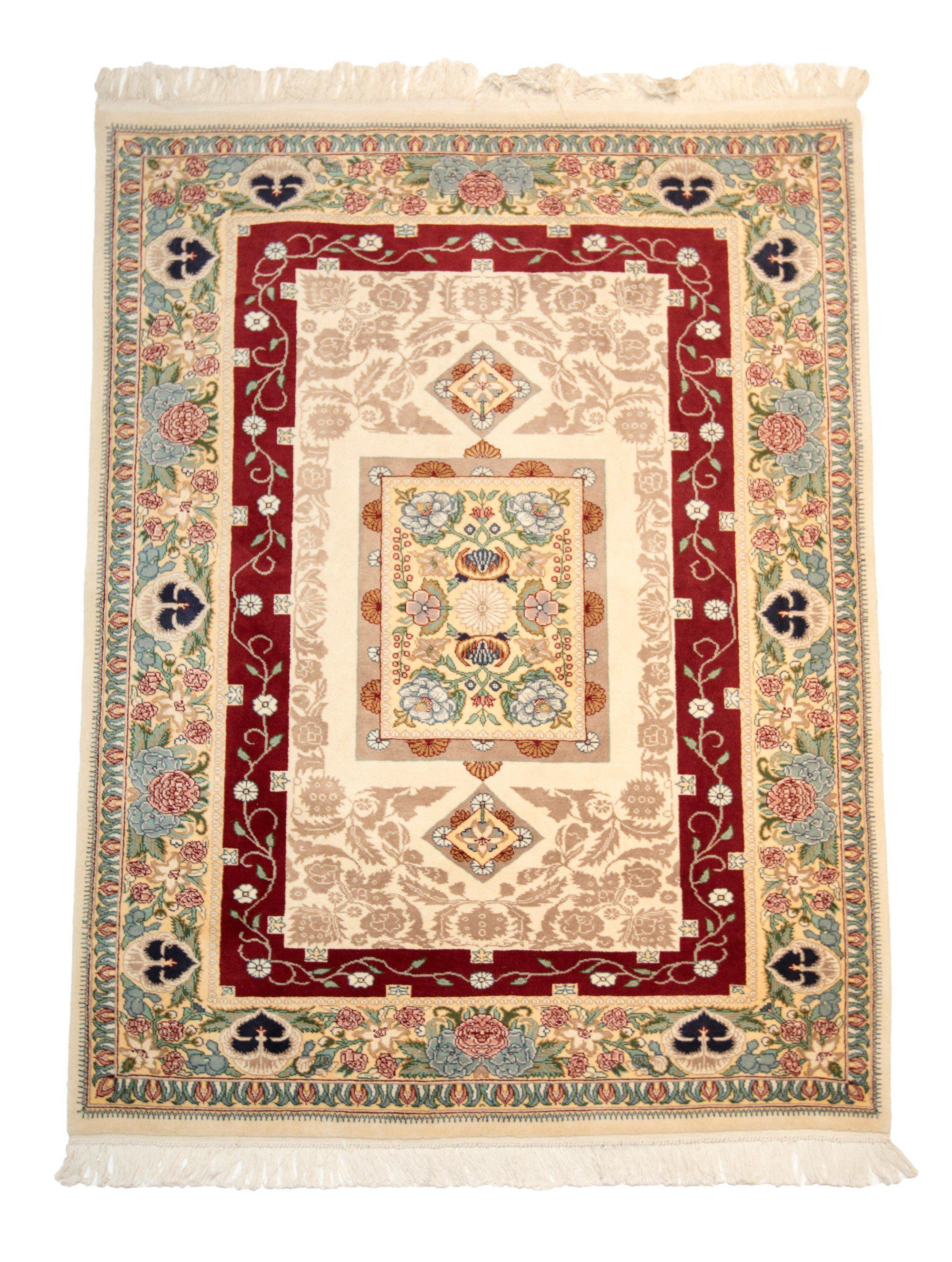 4' x 6' Traditional Handmade Floral Rug-Area Rugs-Rug Shop and More