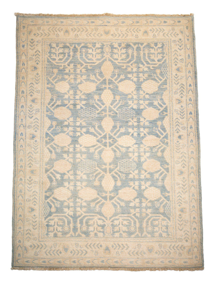 4' x 6' Traditional Overdyed Wool Rug-Area Rugs-Rug Shop and More