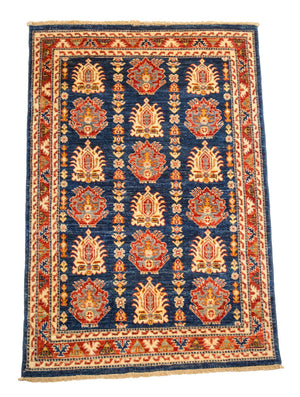 4' x 6' Tribal Oriental Wool Area Rug-Area Rugs-Rug Shop and More