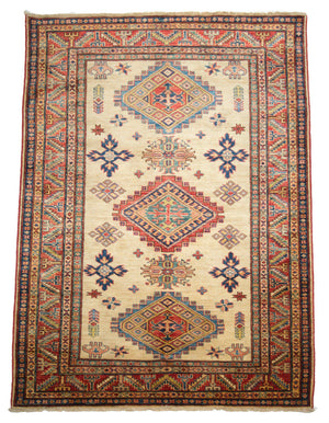 4' x 6' Tribal Vintage Wool Rug-Area Rugs-Rug Shop and More