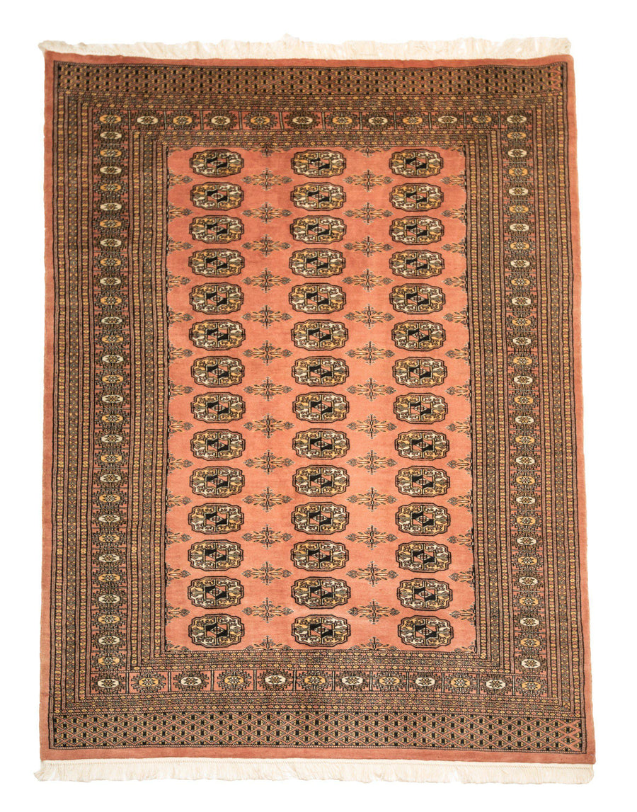 4'x 6' Traditional Bokhara Handmade Wool Rug-Area Rugs-Rug Shop and More