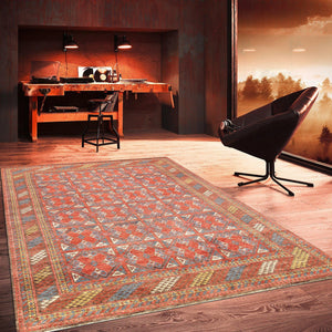 8' x 10' Tribal Nomad Wool Area Rug-Area Rugs-Rug Shop and More