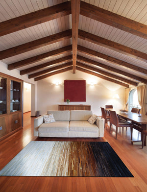 Chalet Homestead Leather Area Rugs