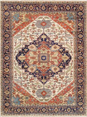 Persian Wool Serapi Area Rug