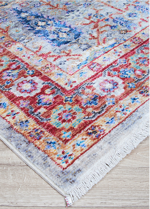 Bliss Caria Traditional Colorful Tree Rug