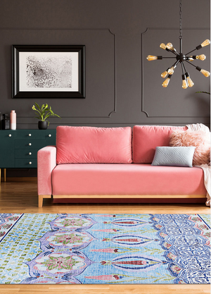 Caledonia Tangiers Transitional Color Rug