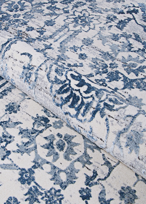 Calinda Marlowe Transitional Blue Rug