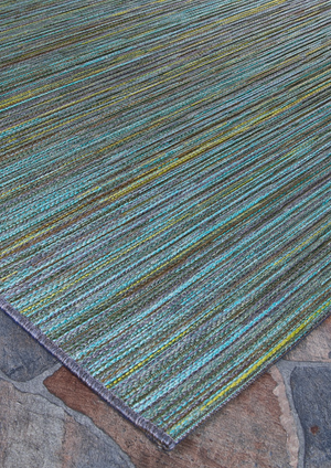 Cape Hinsdale Blue Outdoor Rugs