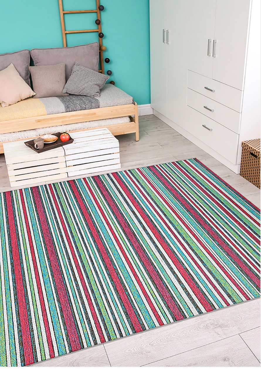 Cape Brockton Multi Color Outdoor Rugs