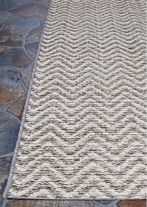 Cape Marion Outdoor Chevron Rug
