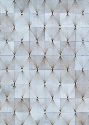 Chalet Diamondback Leather Cowhide Rugs