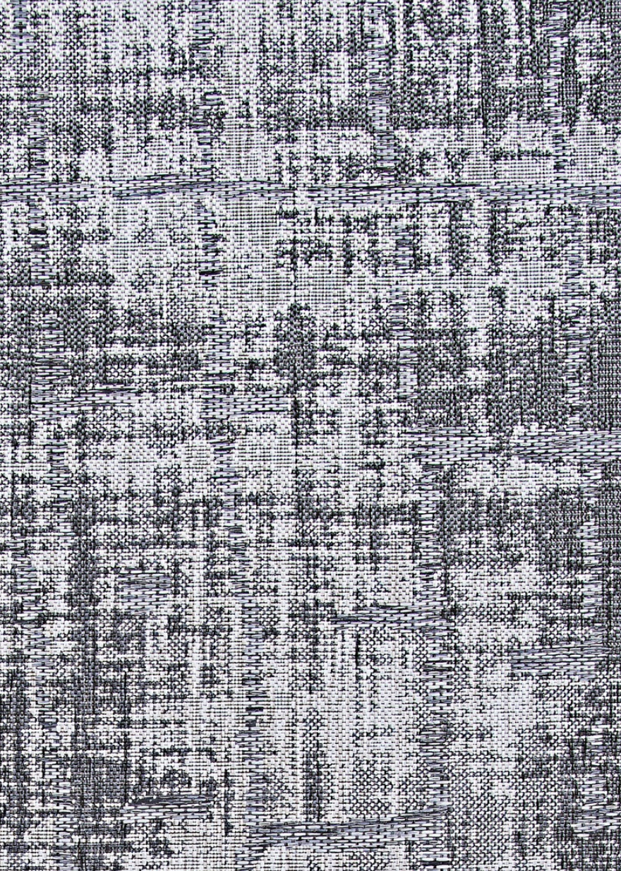 Charm Tiverton Grey Modern Outdoor Rug