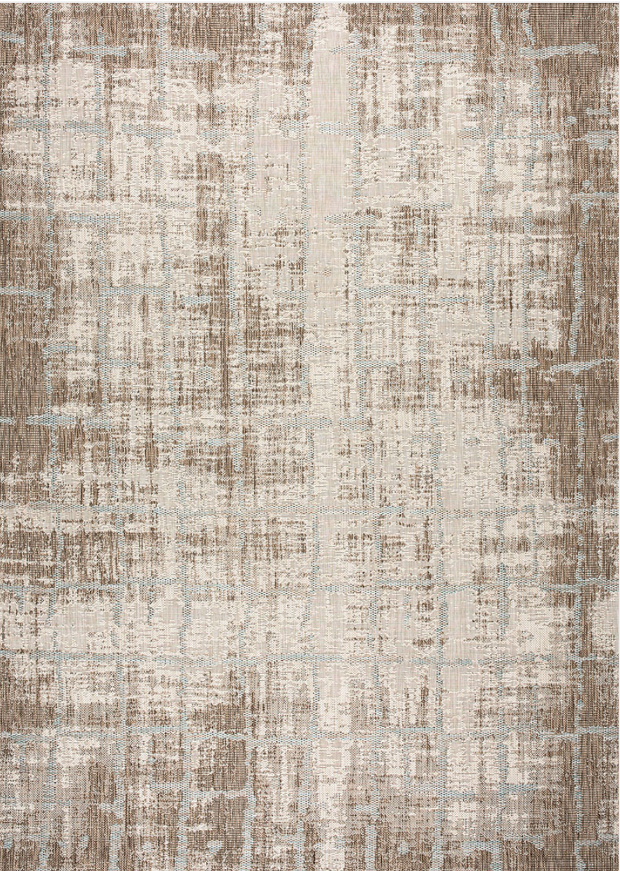 Charm Tiverton Modern Ivory Outdoor Rug