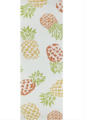 Covington Outdoor Pineapples Runner Rug