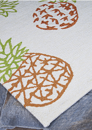 Covington Outdoor Pineapples Rug