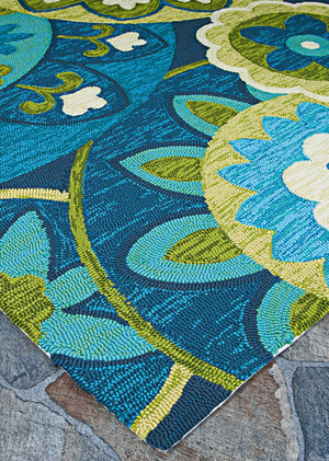 Covington Rip Tide Outdoor Area Rug