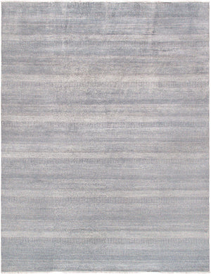 Silk Modern Light Blue Area Rug