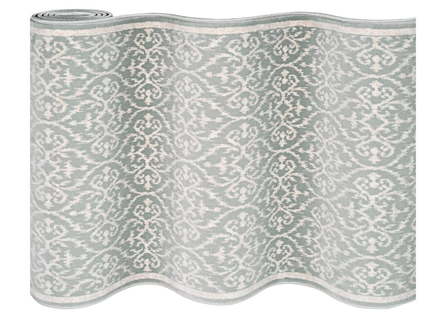 Ansel Seafoam Staircase Runner-CBK0/0001A-Staircase Runner-Rug Shop and More