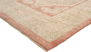 "2'11"" X  9' 5"" Turkish Oushak Hand Knotted Wool Runner"