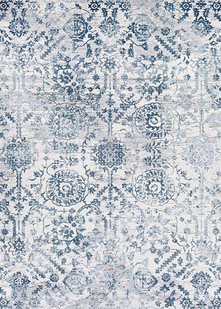 Calinda Marlow Blue Modern Area Rug-Area Rugs-Rug Shop and More