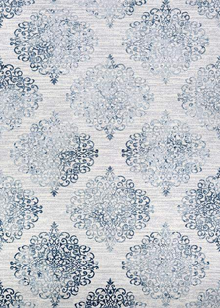Calinda Montebello Blue Modern Area Rug-Area Rugs-Rug Shop and More