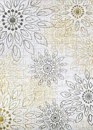 Calinda Summer Bliss Floral Area Rug-Area Rugs-Rug Shop and More