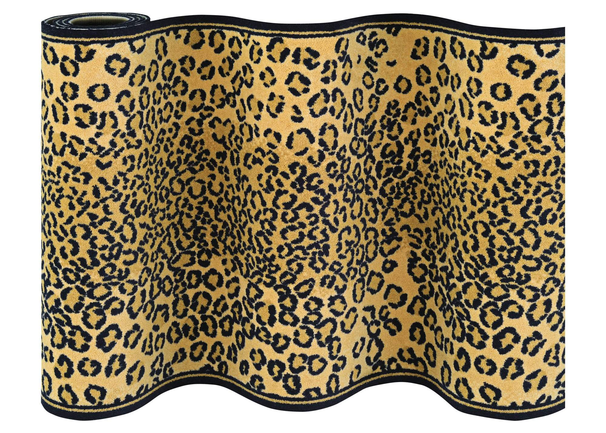e1e3b389dd Cape Town Leopard Staircase Runner-Staircase Runner-Rug Shop and More