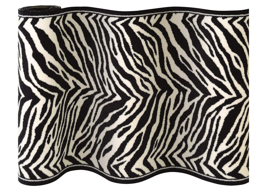 Cape Town Zebra Staircase Runner-Staircase Runner-Rug Shop and More