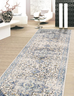 Chelsea Center Medallion Transitional Rugs