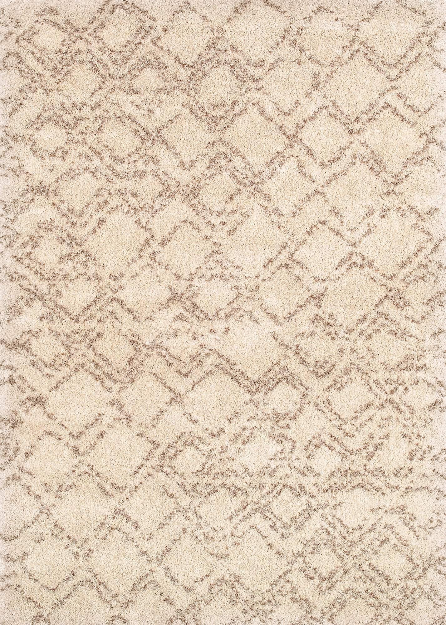 Bromley Pinnacle Shag Modern Neutral Rug