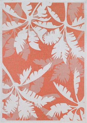 Monaco Coastal Floral Outdoor Area Rugs-Rug Shop and More