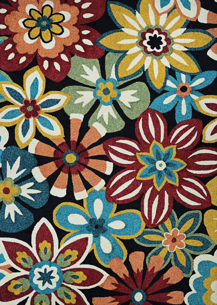 Covington Geranium Casual Indoor Rug Collection