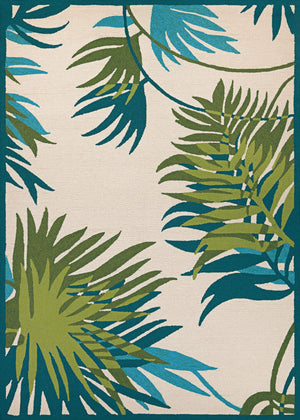 Covington Jungle Leaves Multi-Spaces Rug Collection
