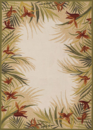 Covington Tropics Garden Outdoor Area Rug-Rug Shop and More